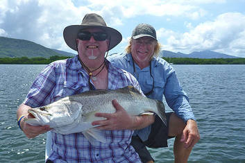 Estuary Fishing Trinity Inlet Cairns (Half Day)
