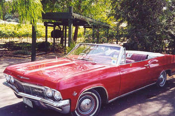 Our Red 1965 Chevrolet Impala Convertible