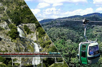 Kuranda Train with Skyrail Gondala