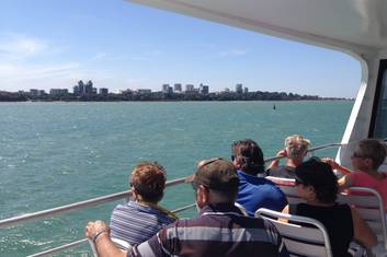 View across Darwin Harbour